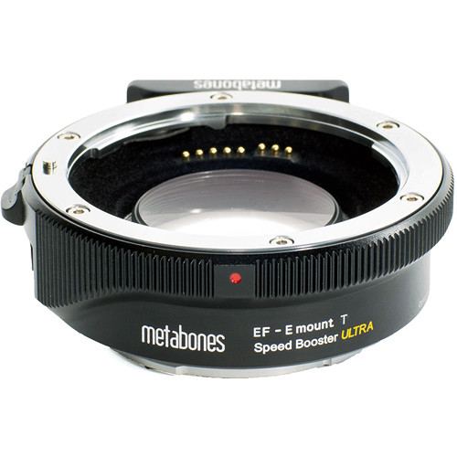 metabones t speed booster ultra 071x adapter for canon full frame ef mount
