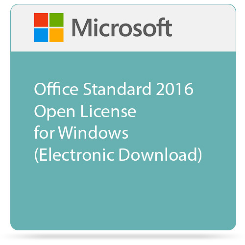 microsoft office standard 2016 download