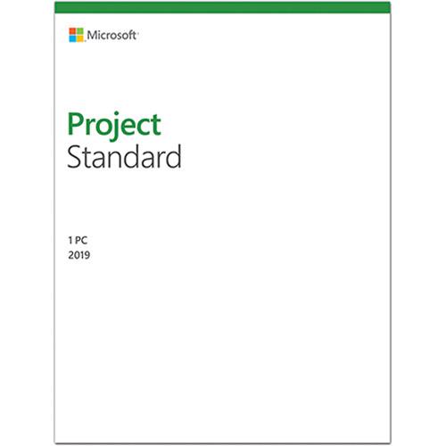 Microsoft Project Standard 2019 076 05795 B H Photo Video