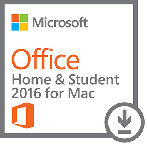 microsoft office home student 2016 for mac gza 00638 b h. Black Bedroom Furniture Sets. Home Design Ideas