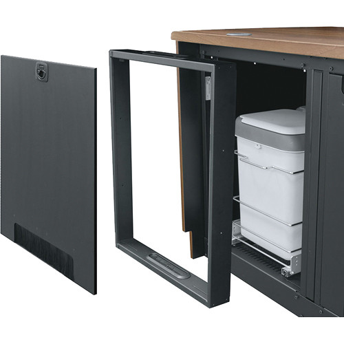 Middle Atlantic 3\  Rear Door Extension Kit for C5 Series Credenza Racks  sc 1 st  B\u0026H & Middle Atlantic 3\