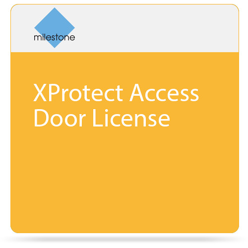 Milestone XProtect Access Door License  sc 1 st  Bu0026H & Milestone XProtect Access Door License XPADL Bu0026H Photo Video