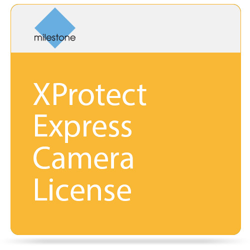 milestone xprotect express camera license