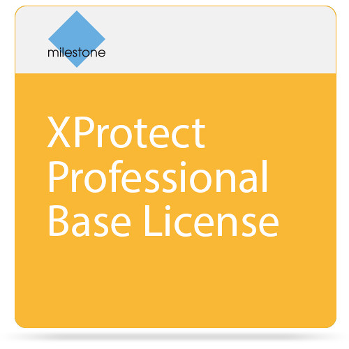 Milestones From 2017 Into 2018: Milestone XProtect Professional Base License XPPBL B&H Photo
