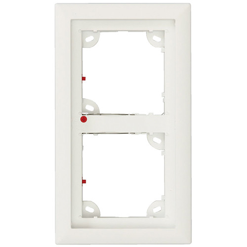 MOBOTIX Double Frame for T25 IP Door MX-OPT-FRAME-2-EXT-SV B&H
