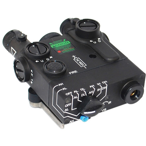 Morovision Dbal A2 5mw Red Aiming Laser With Ir Mvl 40200 B Amp H