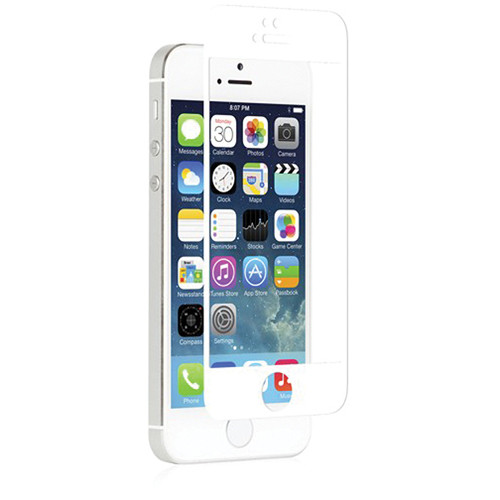 moshi ivisor xt screen protector for iphone 5s 5 white the front camera