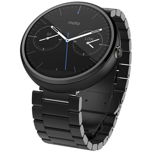 Motorola Moto 360 Smartwatch 00420NARTL B&H Photo Video