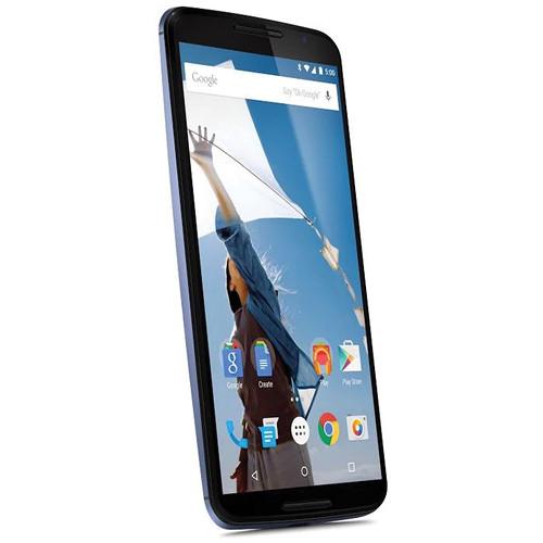 motorola nexus. motorola nexus 6 xt1103 32gb at\u0026t branded smartphone (unlocked, midnight blue) g