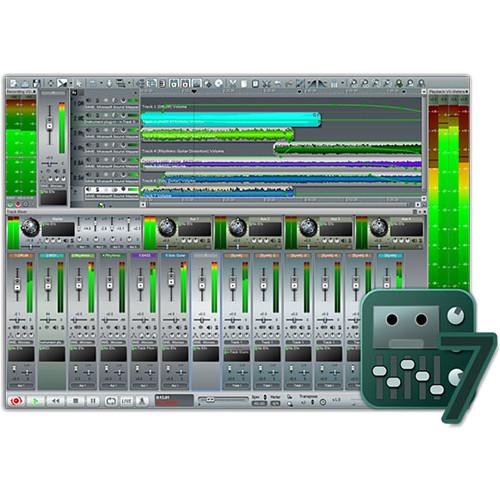 n track studio 7 professional daw audio recording 10 10246. Black Bedroom Furniture Sets. Home Design Ideas