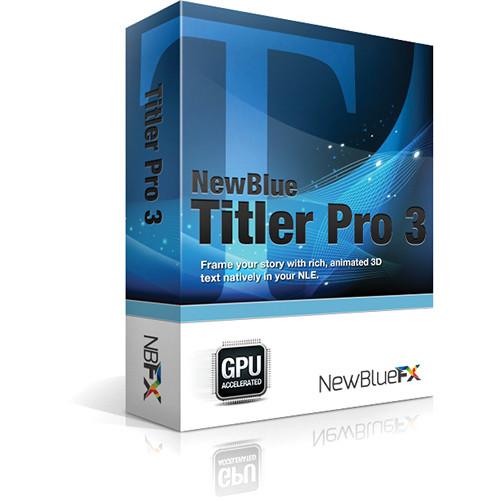 Newblue titler pro 6 basic buy online.
