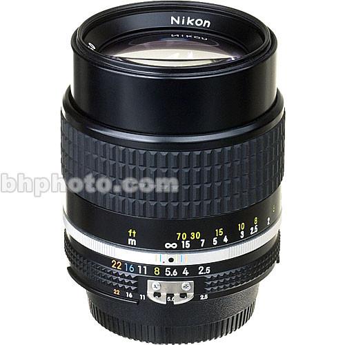 used nikon telephoto 105mm f 2 5 ais manual focus lens 1456 b h rh bhphotovideo com nikkor manual focus lens reviews Nikon Zoom Lens