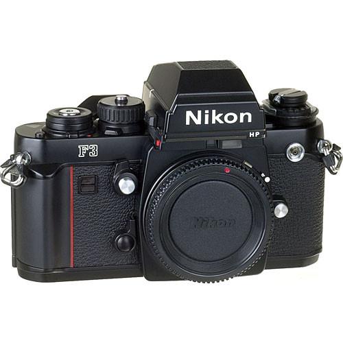 used nikon f3hp 35mm slr manual focus camera body 1691 b h photo rh bhphotovideo com Nikon F3HP Picture Quality nikon f3 hp manual pdf