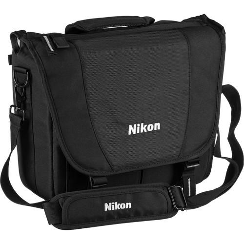 bd3bffd1ecc Nikon Courier Bag (Black) 17007 B H Photo Video