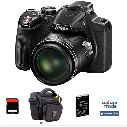 nikon coolpix p530 nikon coolpix p530 digital deluxe kit black b amp h photo 551