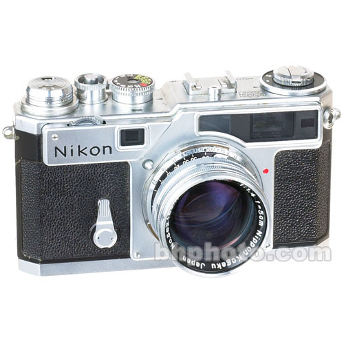used nikon sp 35mm rangefinder manual focus camera chrome b h rh bhphotovideo com Nikon Scope with Rangefinder Nikon Digital Rangefinder