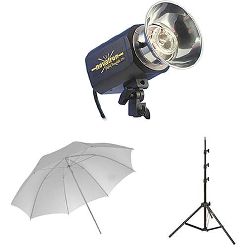 Novatron M150 2-Monolight Kit with 2 Umbrellas  sc 1 st  Bu0026H & Novatron M150 2-Monolight Kit with 2 Umbrellas N2640KIT Bu0026H azcodes.com