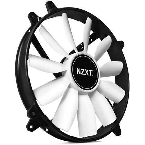 Nzxt Fz 200 Mm Non Led Fan Rf Fz 20s 02 Bh Photo Video