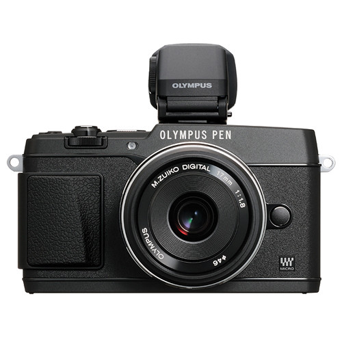 Olympus Digital Camera: Olympus PEN E-P5 Mirrorless Micro Four Thirds V204053BU000 B&H