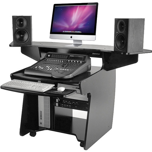 Omnirax Coda Mixing And Digital Editing Workstation Desk Coda B