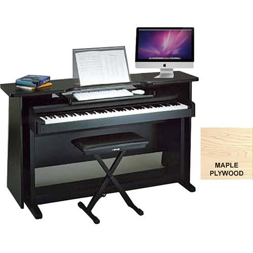 omnirax classroom surround for digital piano with music mcp3mpw. Black Bedroom Furniture Sets. Home Design Ideas