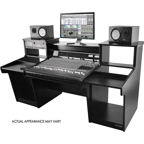 omnirax mixstation mixer stand for the tascam dm4800 mxdm4800 b. Black Bedroom Furniture Sets. Home Design Ideas