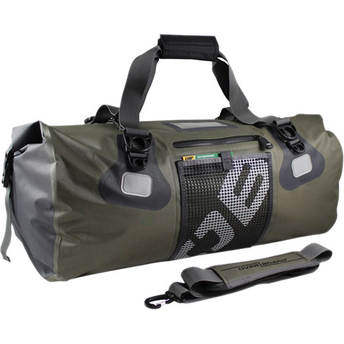 Overboard Ultra Light Waterproof Duffel Bag 50l Green
