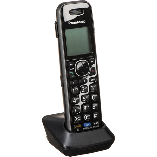panasonic dect 6 0 link2cell expandable single handset. Black Bedroom Furniture Sets. Home Design Ideas