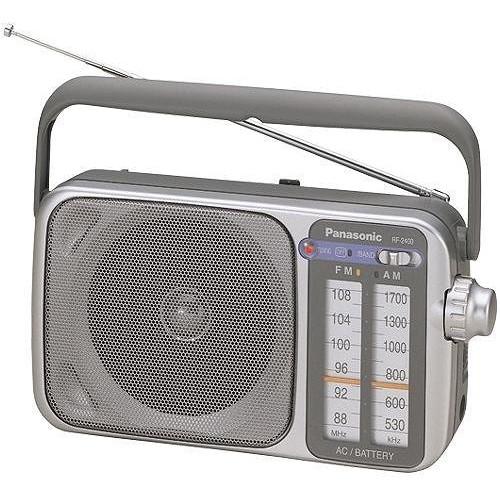panasonic rf 2400 portable am fm radio rf 2400 b h photo video. Black Bedroom Furniture Sets. Home Design Ideas
