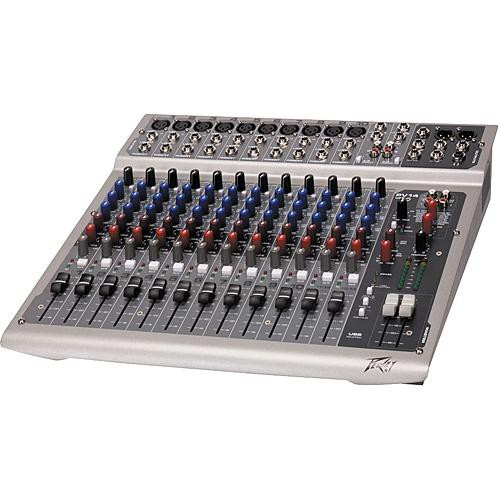 peavey pv14 usb 14 channel recording mixer with usb and 00512780. Black Bedroom Furniture Sets. Home Design Ideas