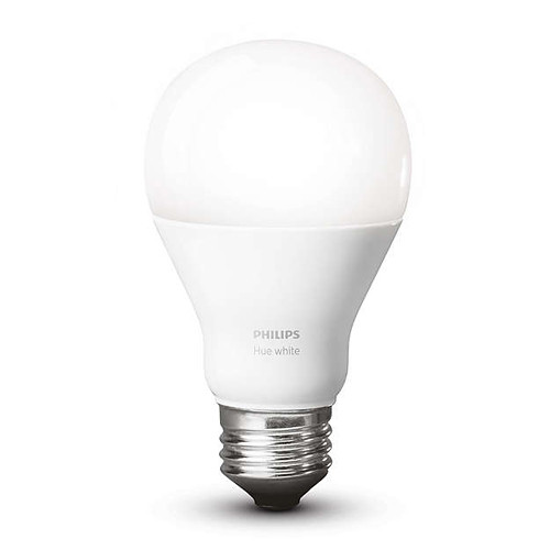 philips hue a19 single bulb warm white 455295 b h photo video. Black Bedroom Furniture Sets. Home Design Ideas