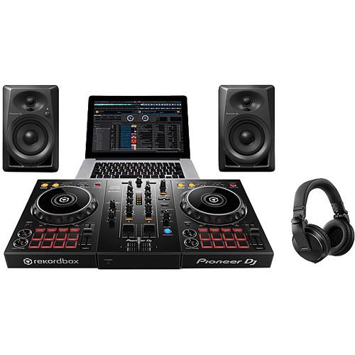 Pioneer DJ Starter Pack with DDJ-400 Controller 3e5e30f4c9