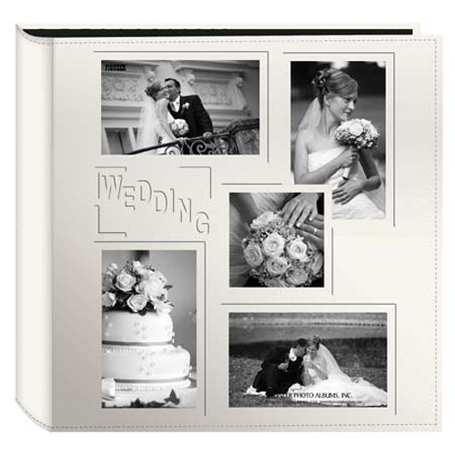 Photo Album Examples: Pioneer Photo Albums 5COL240 Collage Frame Embossed