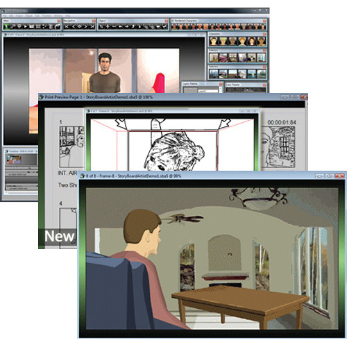 Power Production StoryBoard Artist 51 for MacWindows PPS300E51