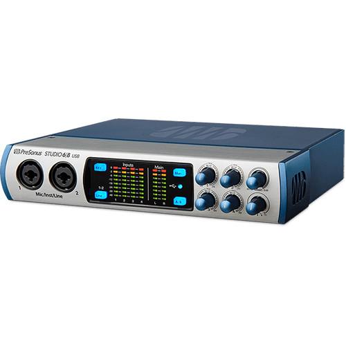 presonus studio 68 6x6 192 khz usb 2 0 audio midi studio 68. Black Bedroom Furniture Sets. Home Design Ideas