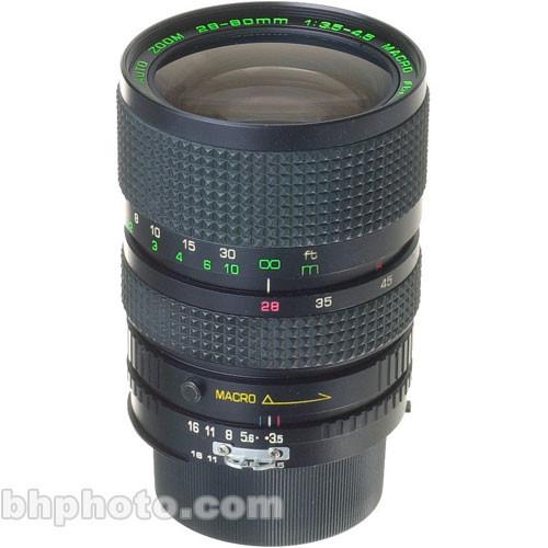used quantaray zoom wide angle telephoto 28 80mm f 3 5 4 5 b h rh bhphotovideo com Quantaray Website Quantaray Tripod