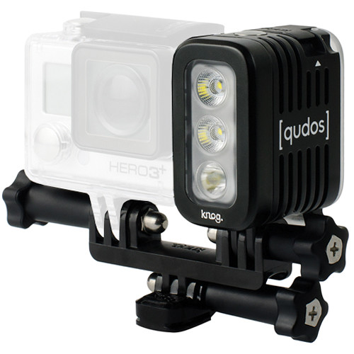 Qudos Action Waterproof Video Light for GoPro HERO by Knog (Black)  sc 1 st  Bu0026H & Qudos Action Waterproof Video Light for GoPro HERO by Knog 11625 azcodes.com