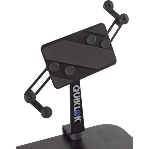 quiklok ips 16 table mount universal tablet holder black. Black Bedroom Furniture Sets. Home Design Ideas