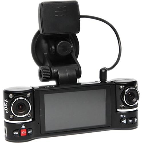 Rear View Safety Dual Lens Dash Camera RVS-350C B&H Photo Video