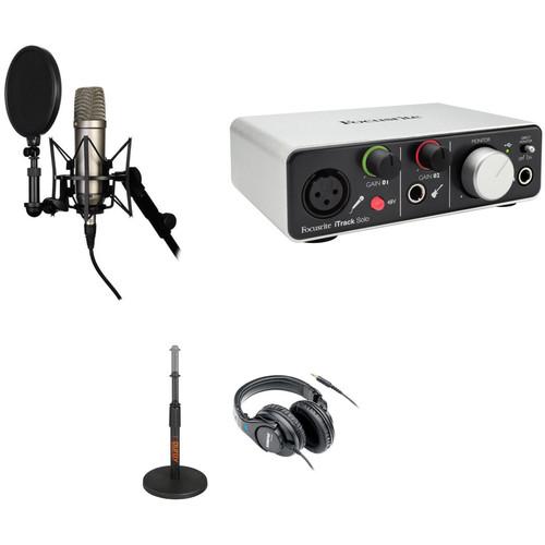 Rode Nt1 A Recording Studio Kit With Usb Ios Lightning Audio