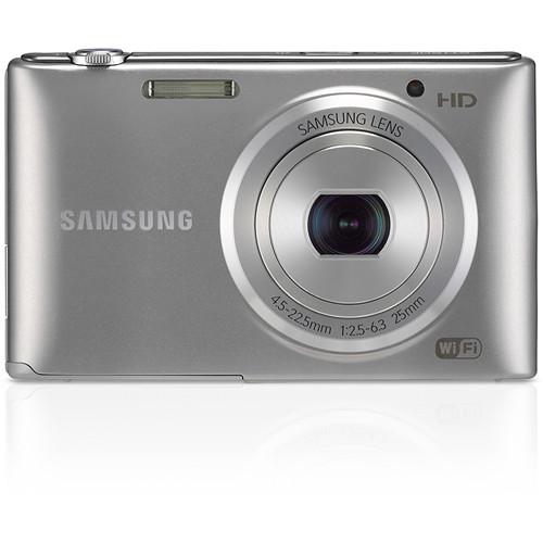 Samsung ST150F Smart Digital Camera (Silver) EC ...