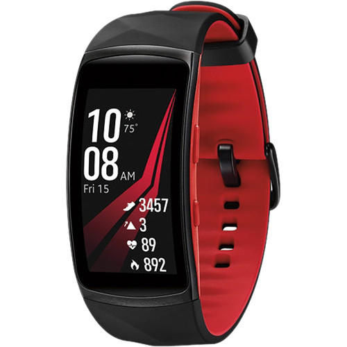 Samsung Gear Fit2 Pro Fitness Band (Small, Red) SM-R365NZRNXAR