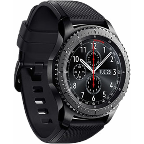 b95b8d5f354 Samsung Gear S3 frontier Smartwatch (Large Band) SM-R760NDAAXAR