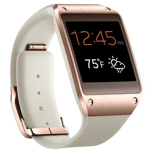 samsung galaxy gear smartwatch rose gold sm v700 rosegold b amp h
