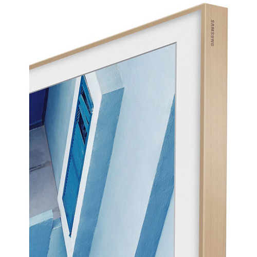 Samsung Customizable Frame For The Tv 65 Beige Wood