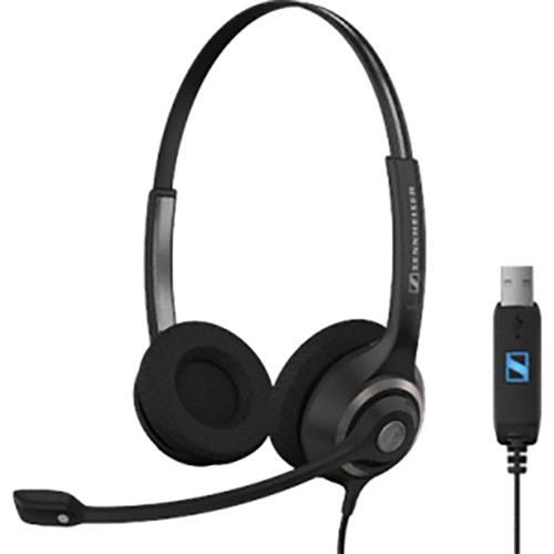Sennheiser SC 260 USB Professional Wired Headset 504404 B&H