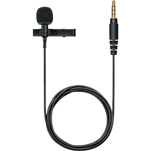 shure mvl omnidirectional condenser lavalier microphone mvl b h. Black Bedroom Furniture Sets. Home Design Ideas