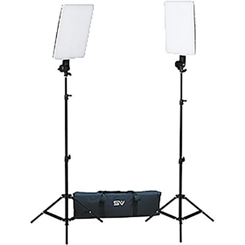 Smith Victor Slimpanel 800w 2 Light Daylight Led Kit