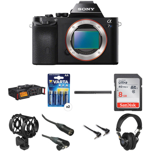 Digital Audio Video Photography: Sony Alpha A7S Mirrorless Digital Camera With Portable