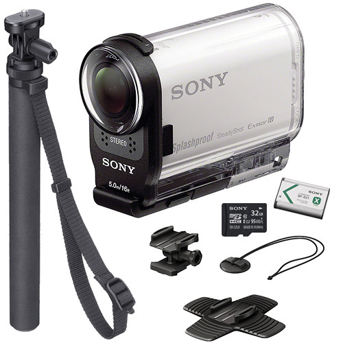 sony hdr as200v hd action cam summer kit b h photo video. Black Bedroom Furniture Sets. Home Design Ideas